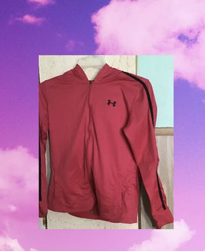 UNDER ARMOUR PINK HOODIE MEDIUM for Sale in York, PA