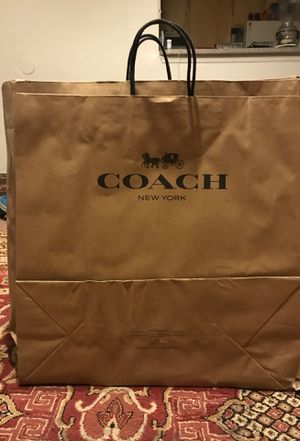 Coach paper bags for Sale in Tampa, FL