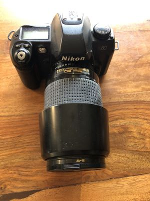 Nikon N80 and lenses for Sale in Seattle, WA