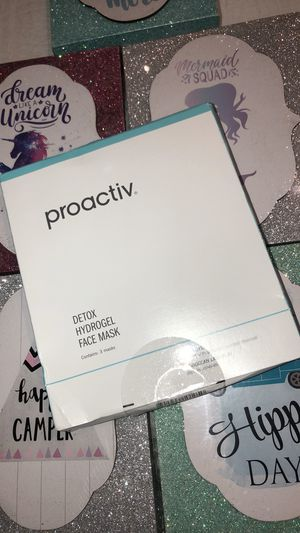 Proactive detox hydrogel face mask for Sale in Opa-locka, FL