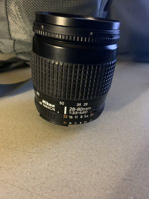 Nikon 28-80mm lense! Works like new!! for Sale in Anaheim, CA