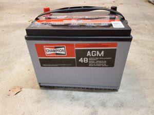 NEW Champion car SUV RV battery 24F for Sale in Arcadia, CA