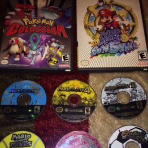GameCube Mario/pokeon Games for Sale in Escondido, CA