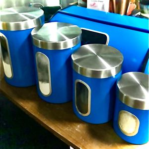 Airtight Canisters & Breadbox for Sale in Pollok, TX