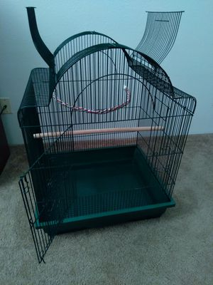Large bird cage D×21 W×25 H×32 for Sale in Kent, WA