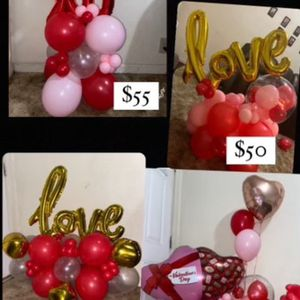 Balloons Bouquet For Valentines Day! for Sale in Ceres, CA