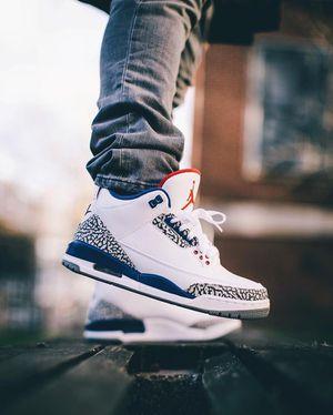Nike Air Jordan 3 Retro OG True Blue 8.5 for Sale in Philadelphia, PA