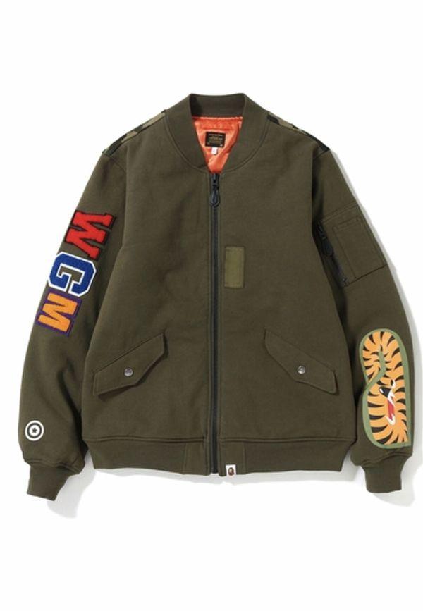 Bape MA-1 Bomber Jacket