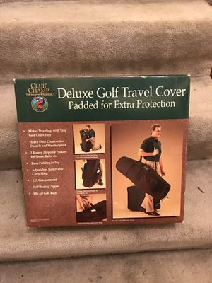 Golfing bag for travel - Club Champ for Sale in Cranberry Township, PA