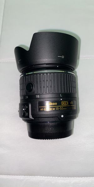 Nikon 18-55mm Lense With Filter for Sale in Santa Ana, CA