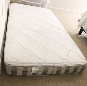 "6"" twin mattress & mattress cover for Sale in San Jose, CA"