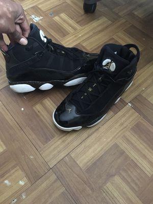 GOAT Six Rings Jordan's Gold n Black for Sale in Auburndale, FL