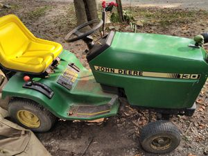 John deer riding mower with trailer for Sale in Evansville, IN