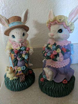 Spring bunnies spring decor for Sale in Manteca, CA