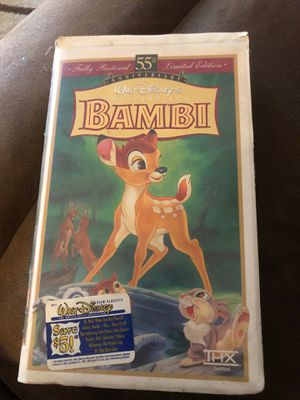 Disney Bambi vhs for Sale in City of Industry, CA