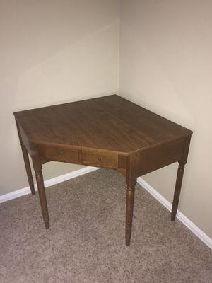 Solid Wood Ethan Allen Corner Desk for Sale in Thornton, CO