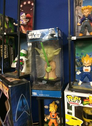Star Wars Yoda bobble head new in package seven dollars for Sale in Roselle, IL