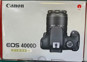 Canon EOS 4000D EF-S 18-55III KIT for Sale in Miami, FL