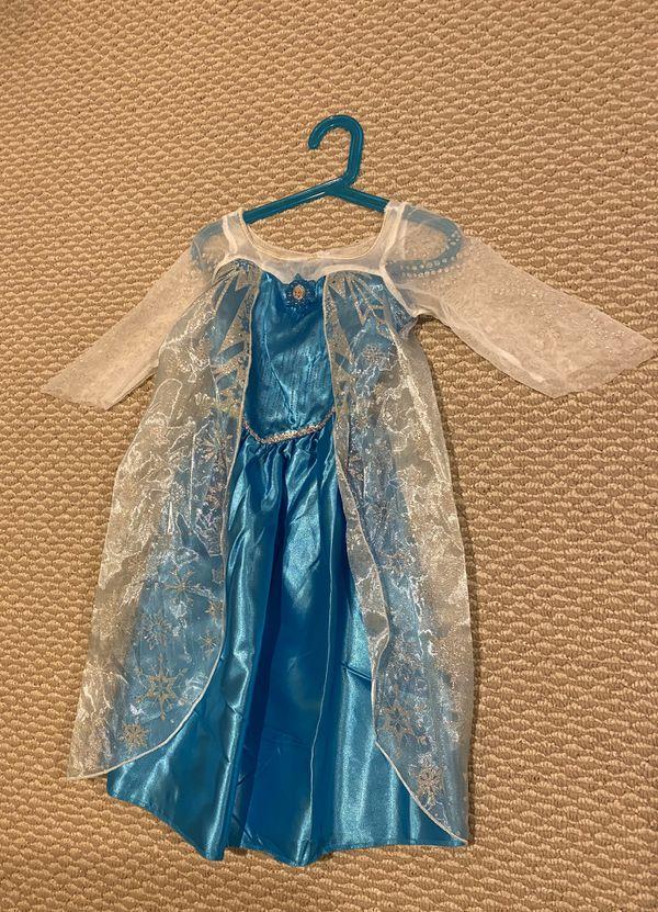 Costume for Halloween (Elsa) (NEW)- 3-4 years