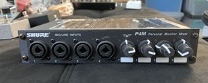 SHURE P4M Personal Monitor Mixer for Sale in Los Angeles, CA