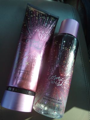 Victoria's secret Cosmic Wish fragrance mist and lotion for Sale in Perris, CA