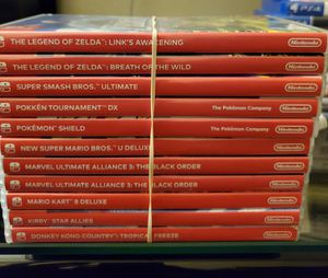 Switch Game Cases Only! for Sale in Hawthorne, CA