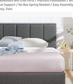 Brand New Twin Bed Frame & Headboard for Sale in Trenton,  NJ