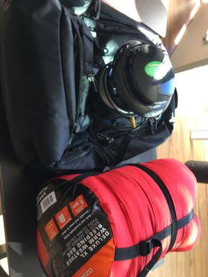 Bag pack, sleeping bag and mosquito trap for Sale in Centennial, CO