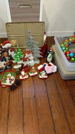 Christmas decorations and storage containers for Sale in Seattle, WA