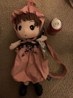 Doll backpack- new with tag for Sale in Brea, CA