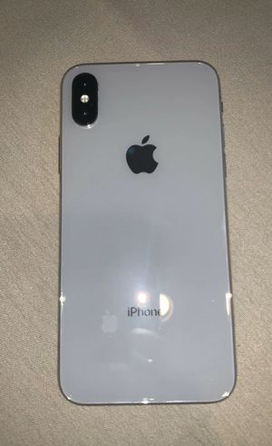 iPhone X Pearl White ( Unlocked) for Sale in Old Bridge, NJ
