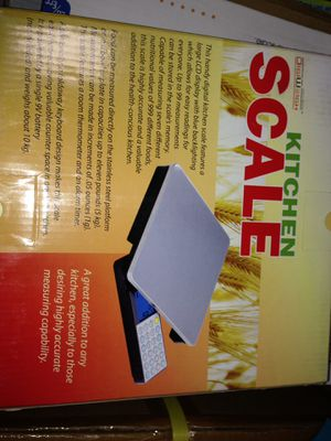BRAND NEW DiGiWeigh Kitchen Scale for Sale in Ontario, CA