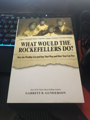 What would the rockefellers do? Book for Sale in Elk Grove, CA