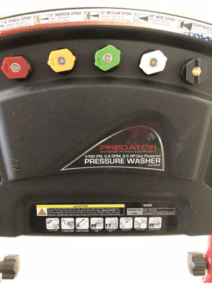 Predator Pressure Washer 6.5 HP for Sale in Town and Country, MO