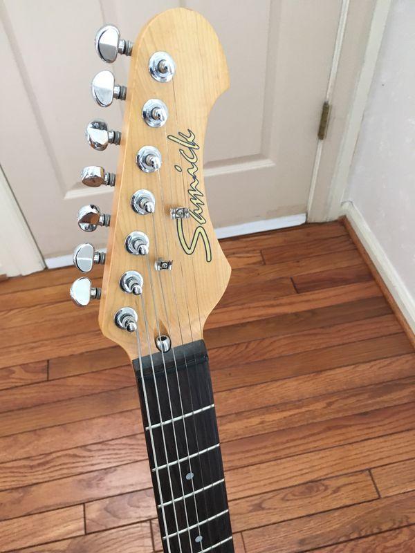 Samick 7-string electric guitar