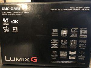 Panasonic lumix DMC-G85 Mirrorless camera w 12-60mm lens for Sale in Irvine, CA