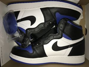 Jordan 1 High Royal Toe Sizes 6Y and 9.5 Brand New for Sale in Queens, NY