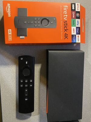 BRAND NEW 4K FULLY LOADED AND JAILBROKEN FIRE TV STICK WITH ALEXA 2020 EDITION for Sale in North Brunswick Township, NJ