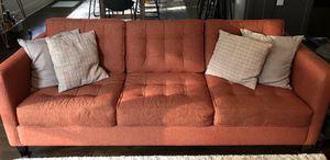Modern cotton tweed sofa for Sale in Decatur, GA