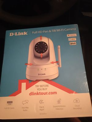 D-Link Security Camera 1080p HD Version for Sale in Humble, TX