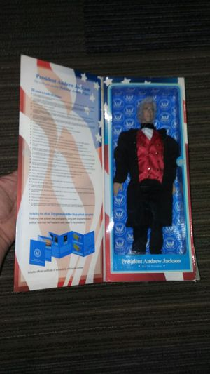 President jackson talking action figure for Sale in Chicago, IL