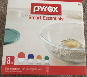 8 Pc Pyrex Mixing Bowl set -Brand New Never Used Sealed Pack. for Sale in Piscataway Township, NJ