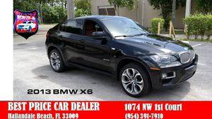 2013 BMW X6 for Sale in Hallandale Beach, FL