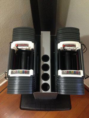 10-90LB Heavy Duty Powerblock Dumbbells for Sale in Covina, CA