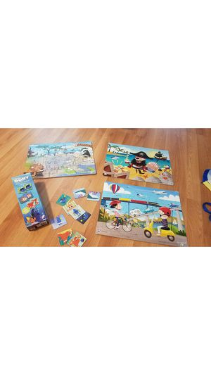 Kids puzzles and memory cards for Sale in Sunrise, FL