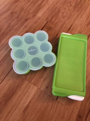 Baby Bliss and Oxo Baby Freezer Trays for Sale in Alexandria, VA