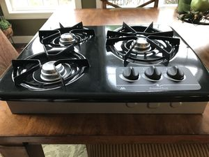 Atwood 3 Burner Gas Drop In Cooktop for Sale in Bridgeville, PA