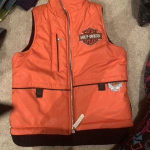 Harley Davidson kids size 5 vest for Sale in Charles Town, WV