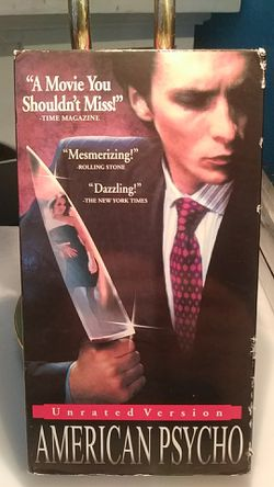 American Psycho VHS for Sale in Tracy,  CA