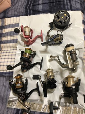 REELS - Fresh/Salt new and used for Sale in Lake Wales, FL